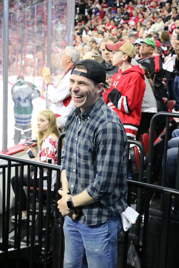 Army Capt. Jacob Riffe was named the Carolina Hurricanes'