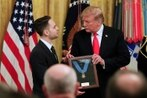 Trump presents posthumous Medal of Honor to son of Army staff sergeant who died protecting his soldiers