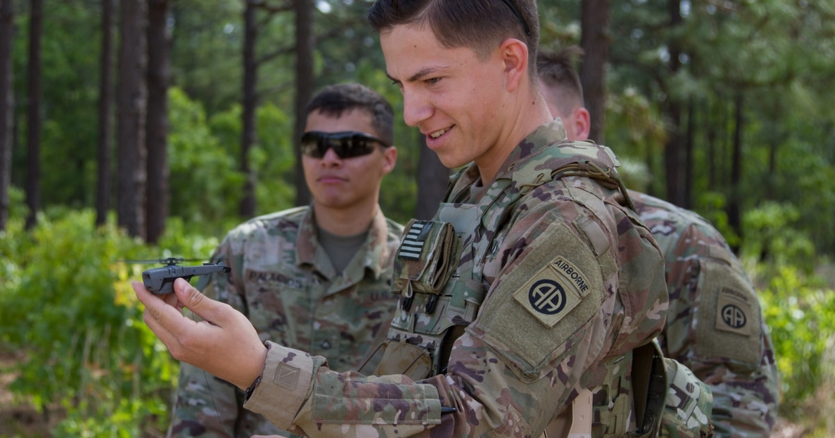 These soldiers will have a drone in their pockets during their Afghanistan deployment