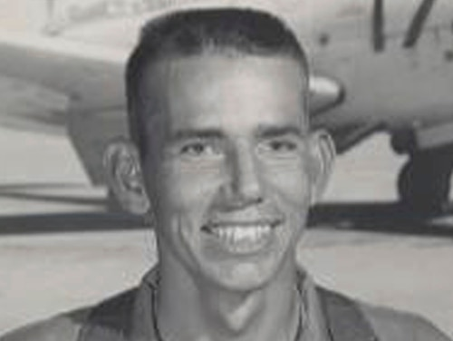 Charles B. Goodwin, of Haskell, Texas. Goodwin was accounted for on May 18, 2017 and will be buried Oct. 12 in Abilene, Texas. The remains of the Navy pilot from West Texas will be returned to his family more than 50 years after he and his jet disappeared during a Vietnam War combat mission. (Defense POW/MIA Accounting Agency via AP)