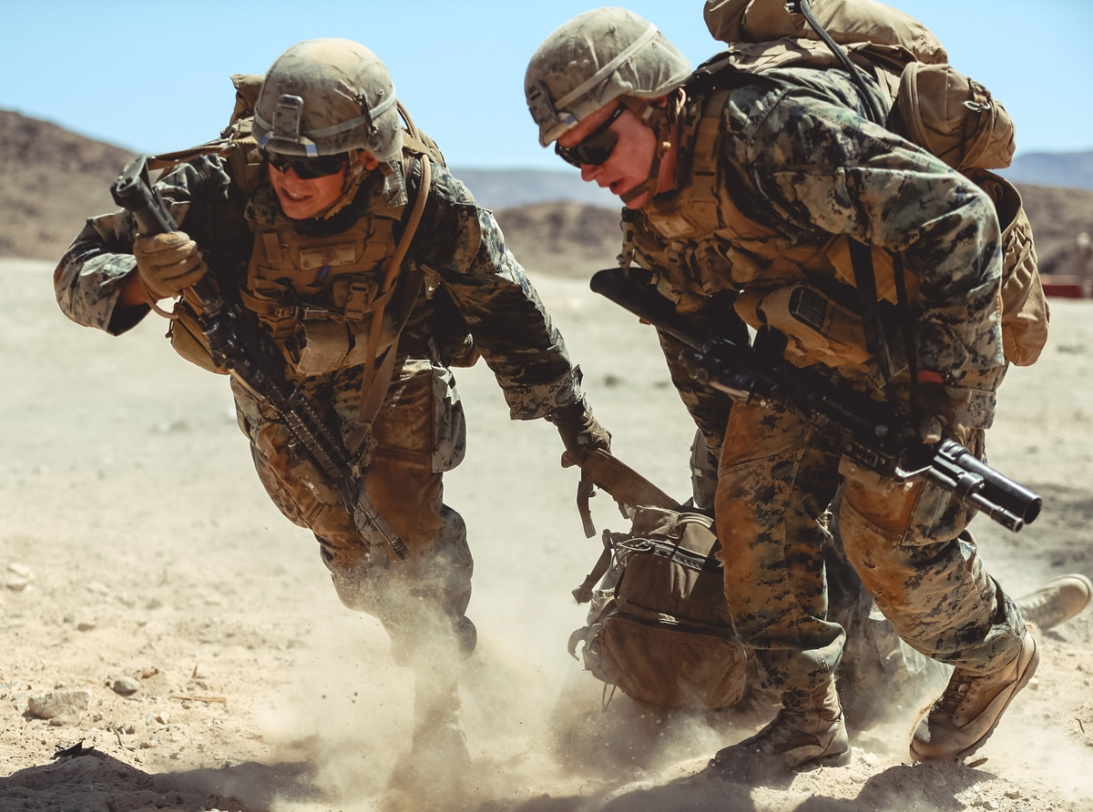 Broken feet and hurt shoulders: Male Marines have far more