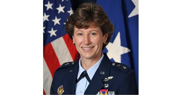 Maj. Gen. Dawn Dunlop has been relieved as director of the Defense Department's Special Access Programs Central Office. (Air Force)