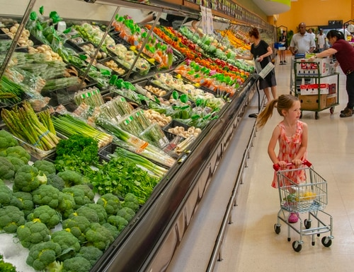 Shoppers at the commissary at Camp Humphreys, South Korea, no longer have dollar limits on purchases. (Sean Kimmons/Army)