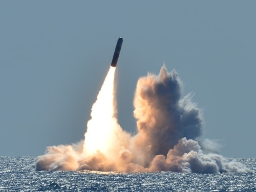 The United States is trying to modernize its nuclear warheads. (MC1 Ronald Gutridge/U.S. Navy)
