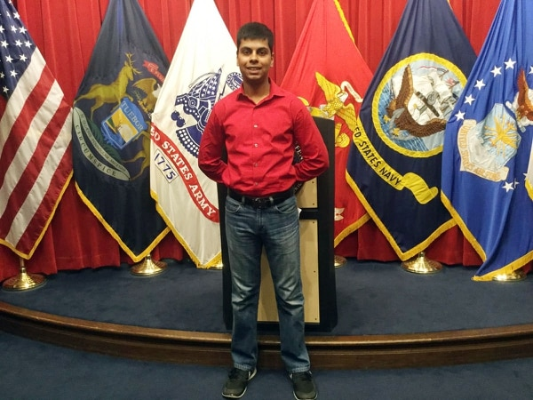 Raheel Siddiqui, 20, of Taylor, died during U.S. Marines boot camp training in South Carolina in March 2016. (Photo: Family photo via DFP)