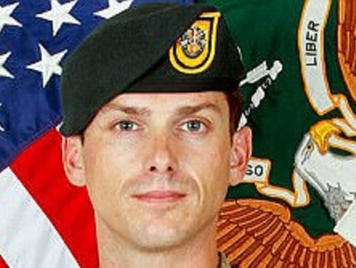 Staff Sgt. Michael Mantenuto, who was creating an addiction recovery program for his fellow Green Berets, died by suicide in April 2017. (Army)