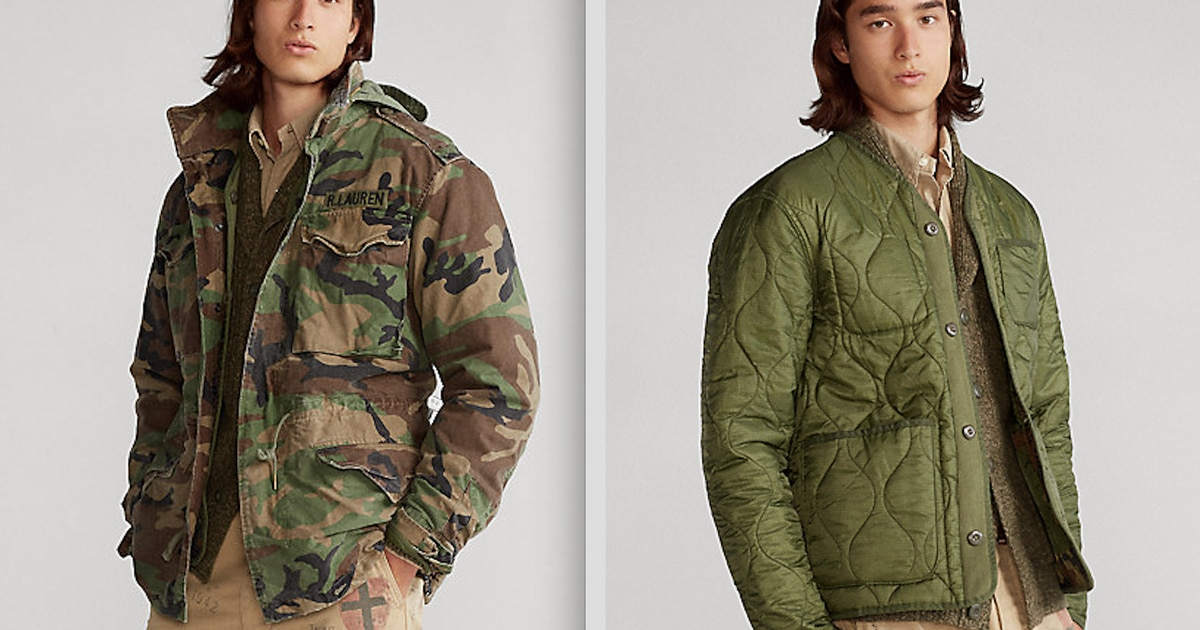 Ralph Lauren can't stop ripping off military clothing