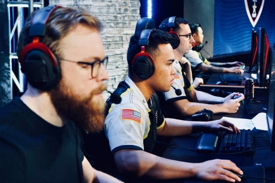Members of the Army's esports team compete in various tournaments across the country. (Army)