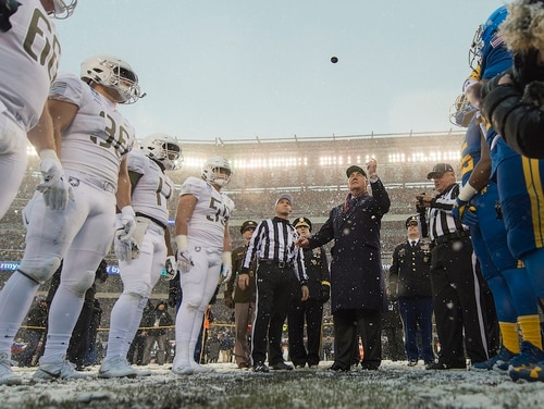 A best-selling author talked to Military Times about what makes the Army-Navy game so unique. (PO1 Dominique A. Pineiro/Navy)