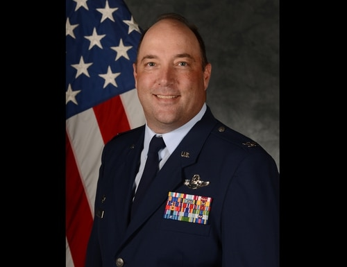 Col. Anthony Retka, who was commander of the 52nd Operations Group at Spangdahlem Air Base in Germany, was disciplined with an administrative action after an investigation into allegations that he inappropriately touched a lieutenant colonel's wife at a dinner party last year. (Air Force)