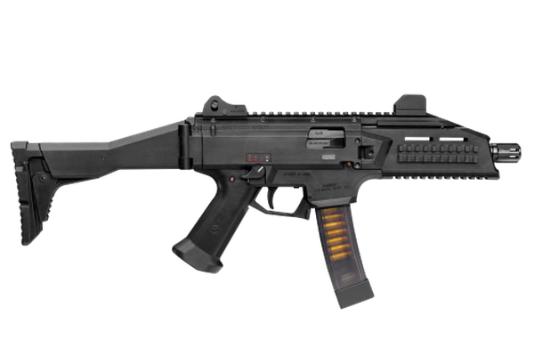 The Army has received 10 submissions for its request for information on a submachine gun capable of firing 9 mm ammunition. CZ-USA submitted the CZ Scorpion EVO3A1 submachinegun, similar in design to the weapon featured here. ( CZ-USA)