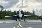 The US Air Force's top general gets a taste of Finnish fighter tactics