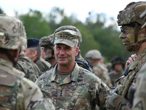 Gen. Christopher Cavoli, who is in charge of U.S. Army Europe and Africa, said the service needs a multidomain task force and a