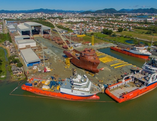 ThyssenKrupp Marine Systems has announced it will buy the Oceana shipyard in southern Brazil to build new frigates for Brazil's Navy. (Courtesy of ThyssenKrupp Marine Systems)