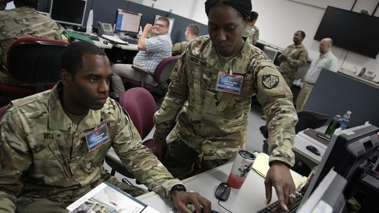 The Persistent Cyber Training Environment is slated to deliver its second version to the cyber mission force by this fall. (Photos provided by U.S. Cyber Command Public Affairs)