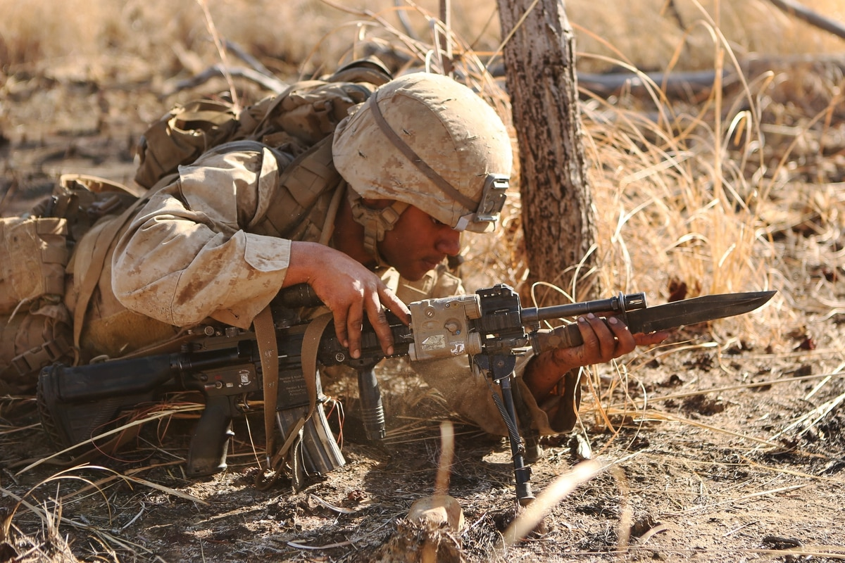 Bayonets Hot Coffee And Dry Socks Marines Still Rely On