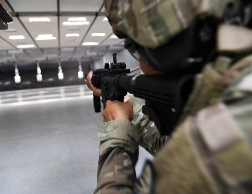 An D.C. National Guard M4 rifle went missing in March. (Davide Dalla Massara/Army)