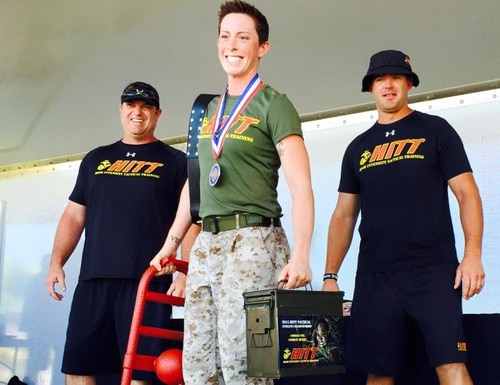 High Intensity Tactical Training Athlete Championship in California.