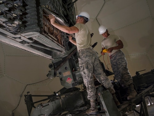 If adversaries won't always disconnect systems, what changes must the military make to adjust to adversaries inside systems? (U.S. Air Force Tech. Sgt. Christopher Hubenthal)