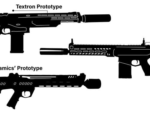 Marines and soldiers could see another major change in the coming years if the Next Generation Squad Weapon program is successful. These are three variants of a 6.8mm rifle/automatic rifle suite competing to replace both the Squad Automatic Weapon and M4/M16. (Jacqueline Belker/Marine Corps Times)