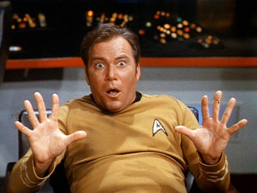 William Shatner, who played Capt. James T. Kirk of the Starship Enterprise, says Space Force should use Navy ranks.
