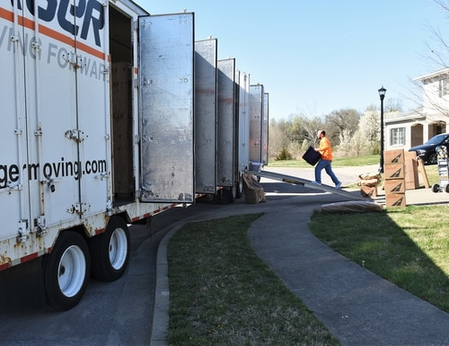 With a large portion of military moves requiring the involvement of packers and movers, it's the Army Transportation Office's job to ensure standards are being met. (Fort Knox)