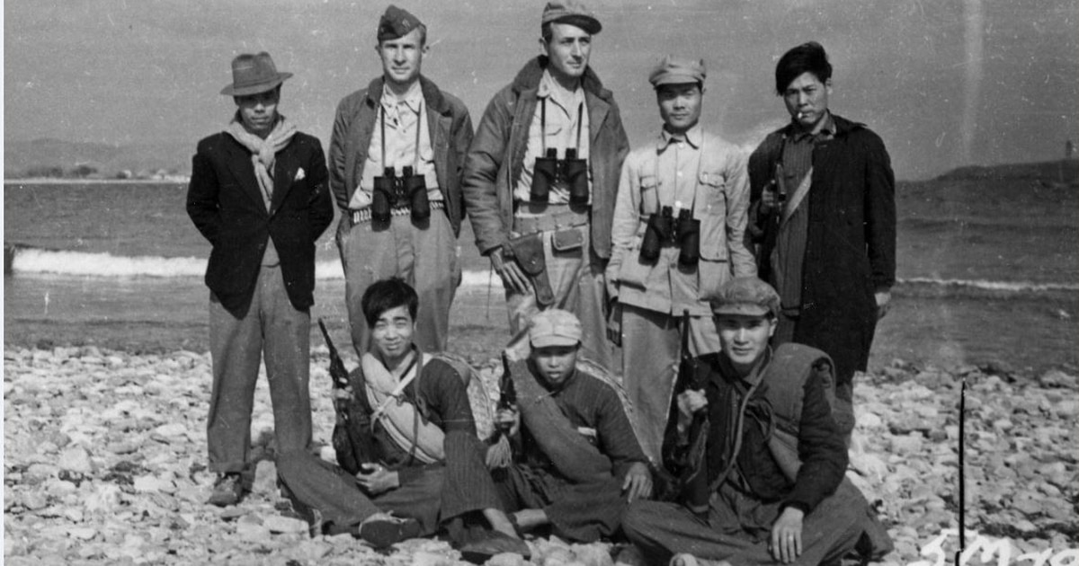 2cc850e2787 How naked World War II sailors ended up riding Mongolian ponies in the Gobi  Desert to shoot bazookas at the Japanese