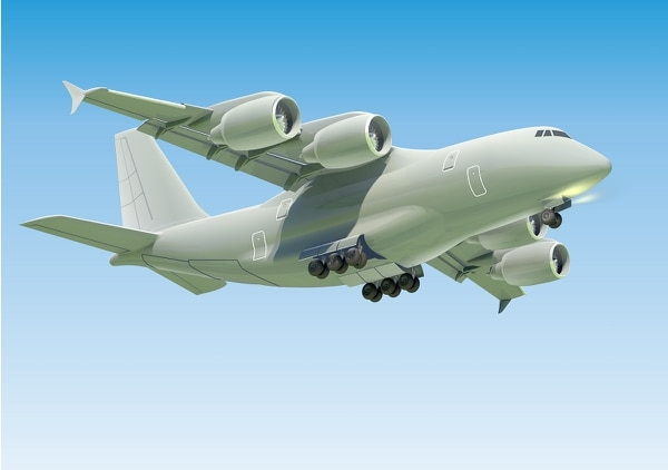 The An-188 aircraft is produced by Antonov, which is part of the Ukrainian aerospace holding group Ukroboronprom. (Courtesy of Antonov)