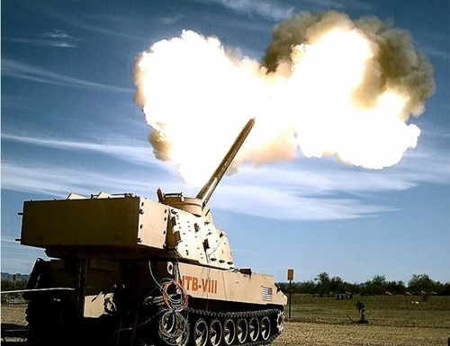 Extended Range Cannon Artillery, or ERCA, will be an improvement to the latest version of the Paladin self-propelled howitzer that provides indirect fires for the brigade combat team and division-level fight. Building on mobility upgrades, ERCA will increase the lethality of self-propelled howitzers. (Army)