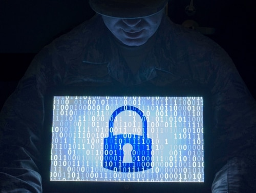 The Cooperative Cyber Defense Centre of Excellence (CCDCOE), a NATO-accredited international military organization that specializes in cyber defense in technology, strategy, operations, and law, grew to 25 members. (U.S. Air Force photo illustration / SrA Ryan Lackey).