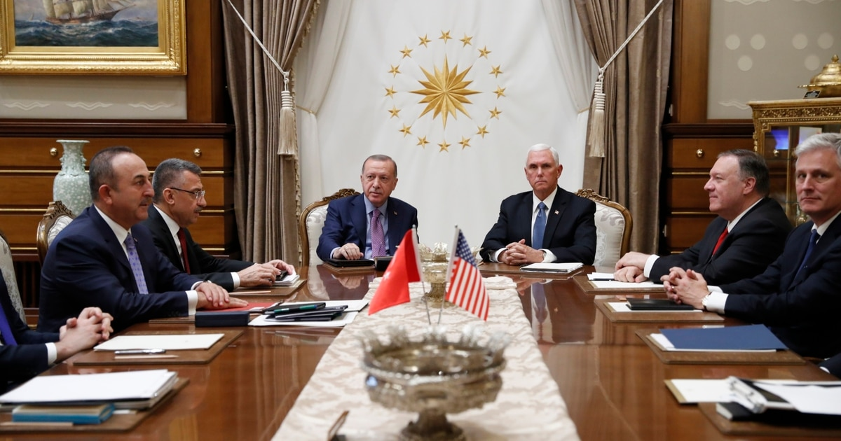Turkey agrees to 5-day cease-fire in Syria, Pence says