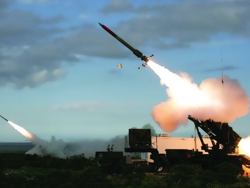 The Patriot systems provide a ground-based air defense capability against a variety of threats, including aircraft, cruise missiles and ballistic missiles. (U.S. Army)