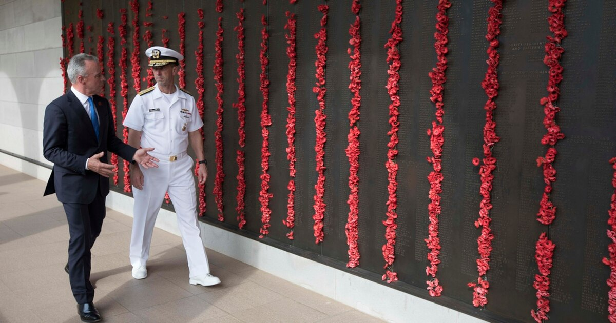 With China rising, CNO praises Australian decision to expand naval