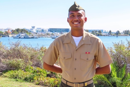 Pfc. Bryan J. Baltierra, 18, of Corona, California, dreamed of being a Marine since he was a little boy. He was one of seven Marines lost and presumed killed after an AAV sunk off the California coast. (Photo courtesy of the Baltierra family.)