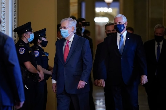 The temporary extension will set the stage for a lame-duck session of Congress later this year, where the agenda will be largely determined by the outcome of the presidential election. (J. Scott Applewhite/AP)