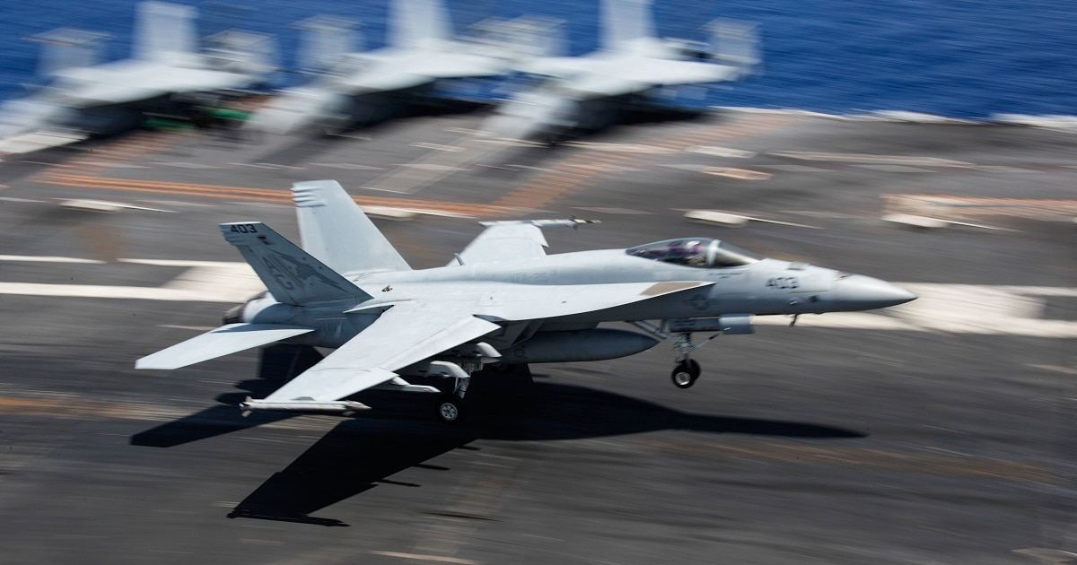 The US Navy's fight to fix its worn-out Super Hornet fleet