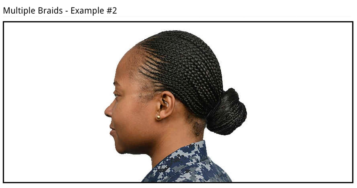Navy Expands Female Hair Regs Includes Two Strand Braids