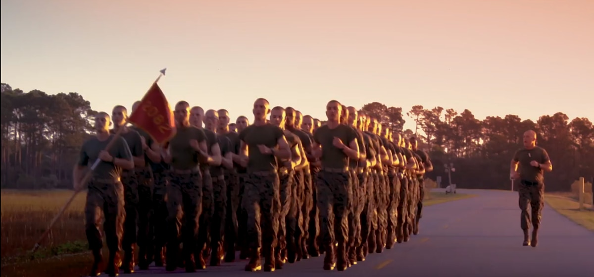 '1, 2, 3, 4, Marine Corps': Watch the new cadence the Corps created for its 244th birthday