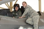 Meet the first female test pilot to fly the F-35