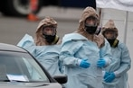 US lawmaker to Trump: Get the military ready to fight coronavirus