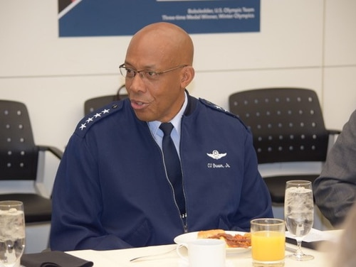 Pacific Air Forces Commander Gen. Charles Brown said during a meeting with reporters in Washington Tuesday that he expects North Korea's