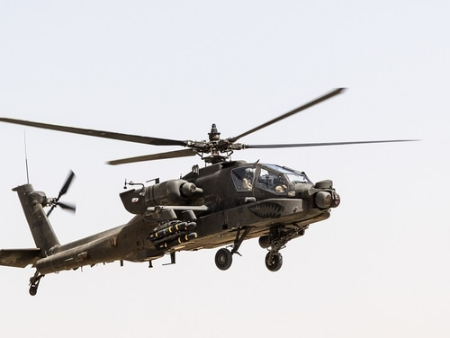 AH-64s from the U.S. Army's 101st Airborne Division are providing close air support in the defense of Ghazni City during a multi-day Taliban offensive. (Army)