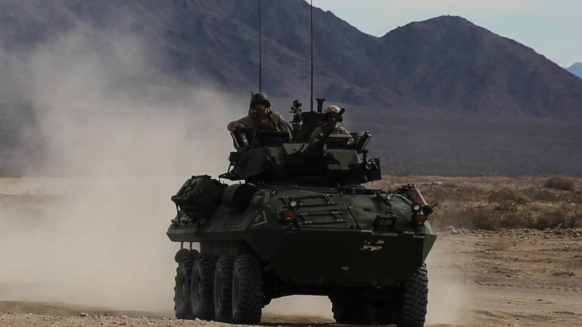 The aging Marine LAV is still active across the Corps