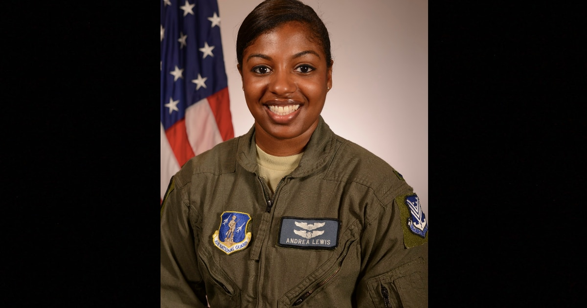Georgia Air National Guard prepares to deploy its first black female pilot