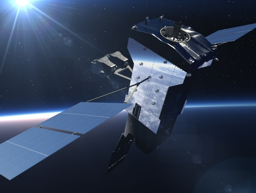 One of the changes the Space Force wants to adopt is incremental funding for satellites, which is used to purchase the fifth geosynchronous Space Based Infrared System satellite. (Lockheed Martin)