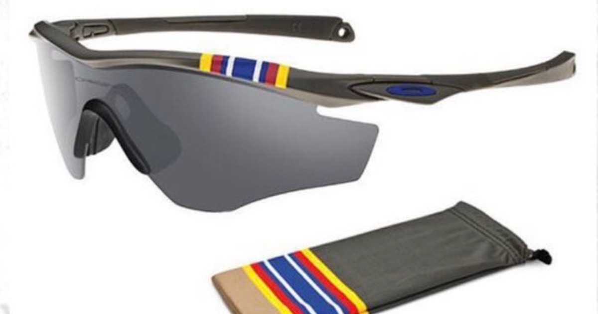 These $215 Oakley GWOT sunglasses say 'you're welcome for my service' so you don't have to