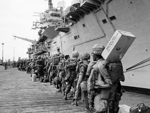 President Donald Trump signed legislation granting presumptive status for disability benefits to an estimated 90,000 Navy veterans who served in the seas around Vietnam during the war. (AP Photo)