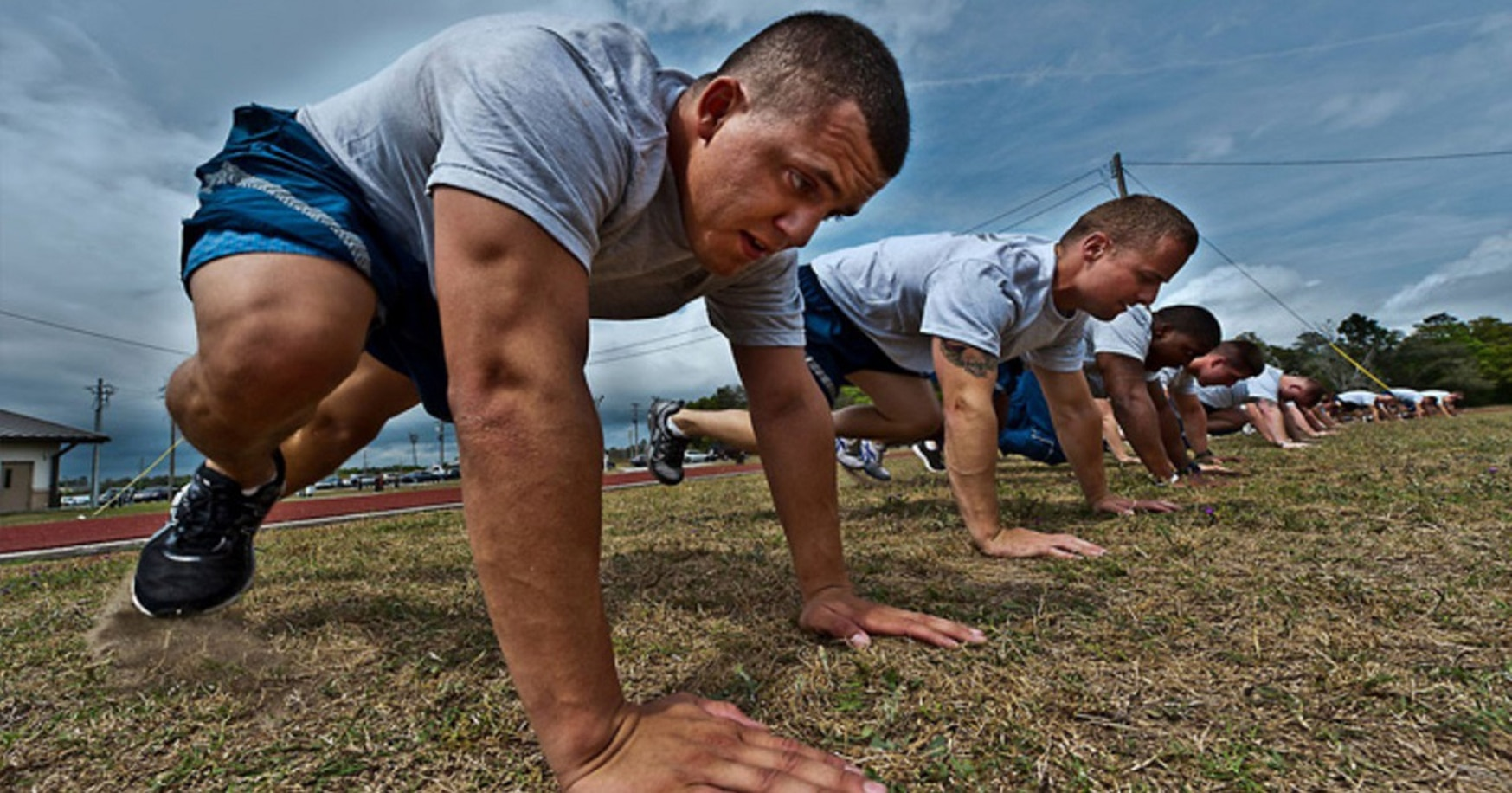Chief Master Sgt. of the Air Force Kaleth Wright said he hopes airmen will focus more on living fit and healthy lifestyles throughout the year, not just on passing a test at a certain time.
