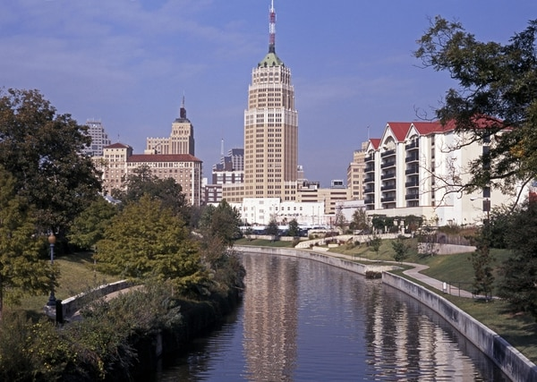 Riverwalk, San Antonio, Texas.
