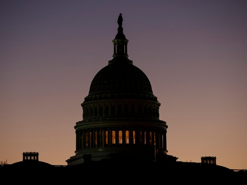 The Senate voted to pass a continuing resolution that would keep significant parts of government funded at previous levels until early February. (Carolyn Kaster/AP)